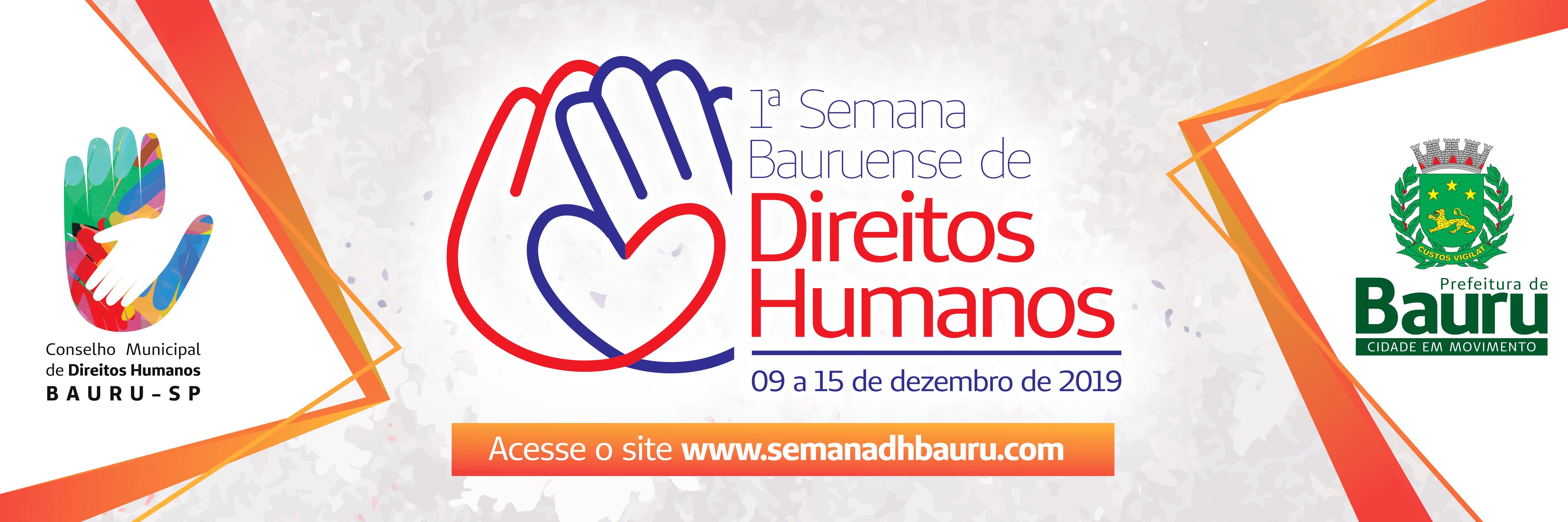1ª Semana Bauruense de  Direitos Humanos